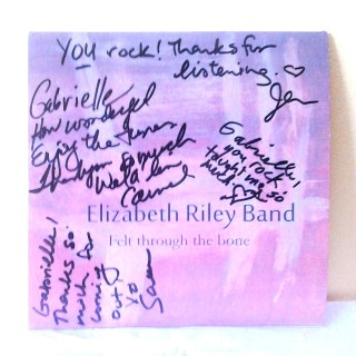 Gabrielle's Elizabeth Riley Band CD